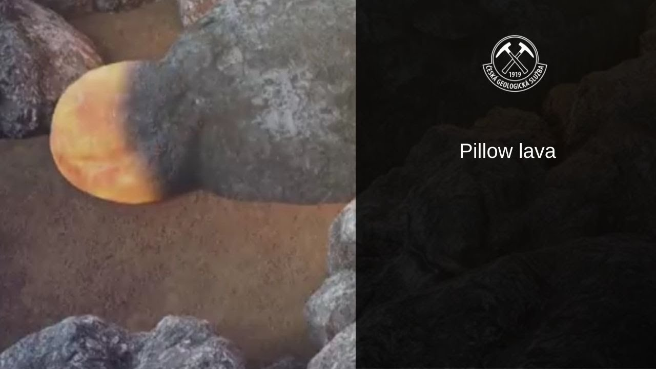 Pillow lava - YouTube