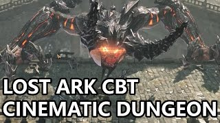 Lost Ark Online CBT Level 30 Cinematic Dungeon Preview 1440p 60FPS (로스트아크)