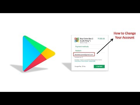 How To Swipe/change The Account While Doing In-app Purchse In A Play Store