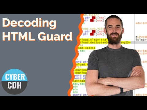 HTML Deobfuscation - Analysing HTML Guard Protected Code