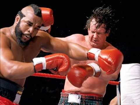 Image result for Mr. T vs. Roddy Piper