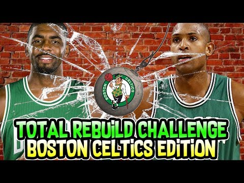 TRADING THE WHOLE TEAM! BOSTON CELTICS TOTAL REBUILD CHALLENGE! NBA 2K18 MY LEAGUE