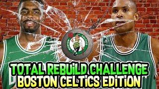TRADING THE WHOLE TEAM! BOSTON CELTICS TOTAL REBUILD CHALLENGE! NBA 2K18 MY LEAGUE