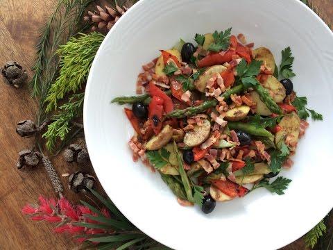 C mo cocinar esp rragos youtube for Cocinar quinoa al vapor