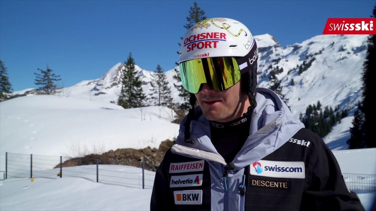 Loic Meillard Slalom Schweizermeister 2019 Youtube