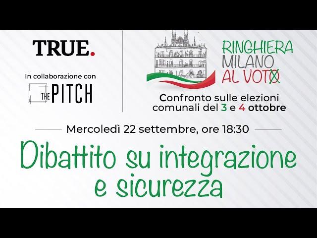 Ringhiera-Milano al voto 4 | Integrazione e Sicurezza