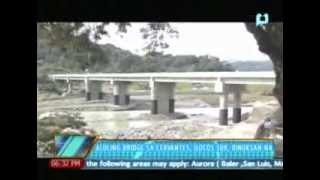 News@6: Aluling Bridge sa Cervantes, Ilocos Sur, binuksan na || August 15, 2013