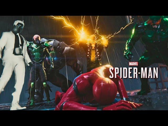 SPIDER-MAN PS4 #21 | O SEXTETO SINISTRO (4K/PORTUGUÊS)