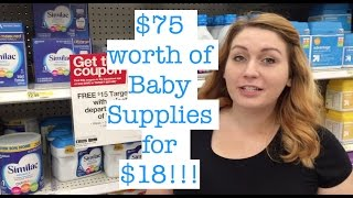 Shopping With Elisabeth - Formula, Diapers, and More!