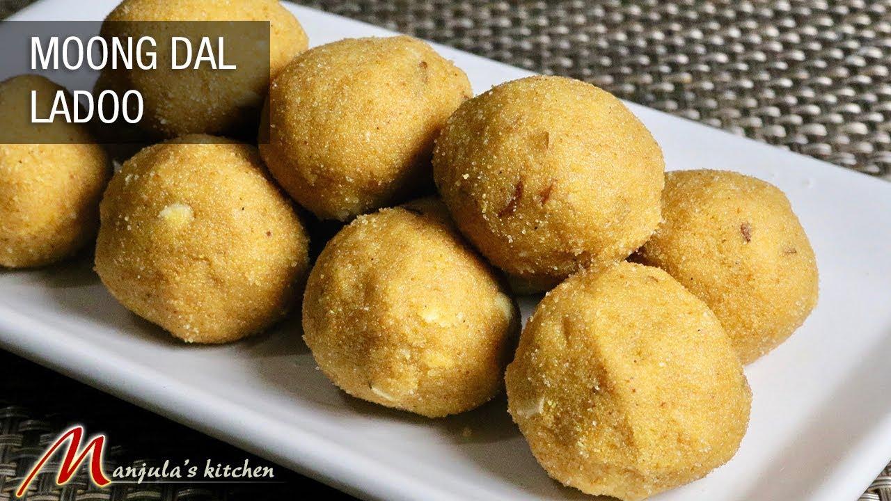 Moong Dal Ladoo (easy to make delicious sweets at home) Recipe by Manjula