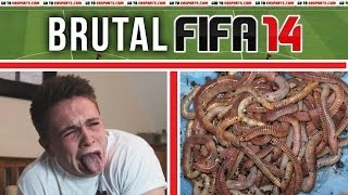 Brutal FIFA: EATING WORMS + RAW EGGS (With Shells)