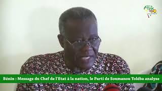 LE PARTI FCDB DE TOLEBA DÉCORTIQUE LE MASSAGE DU PRÉSIDENT TALON