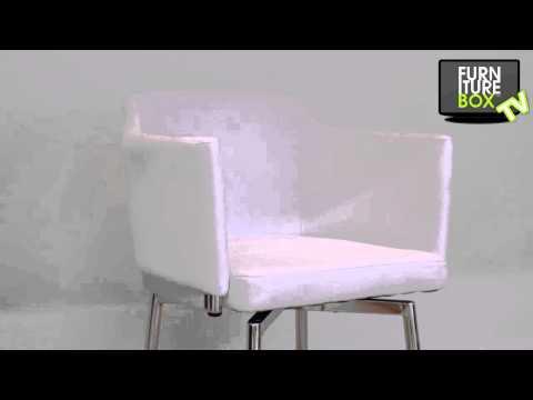 DETROIT Stol Vit Furniturebox