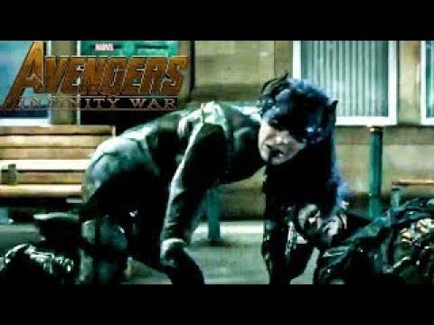 NEW Avengers Infinity War CLIP! Proxima Midnight and Corvus Glaive FIGHT SCENE - SPOILERS thumbnail