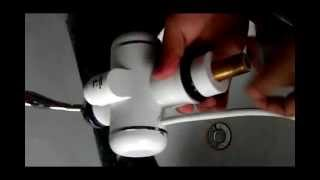 electrical faucet installation