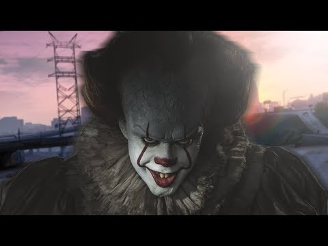 """Pennywise SCARES the Life Out of People on GTA! 