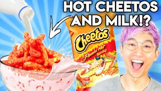 Can You Guess The Price Of These WEIRD FOOD COMBINATIONS?! (GAME)