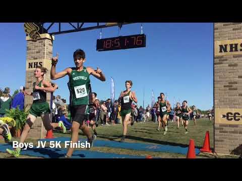 Hoosier Crossroads Conference Championship Boys JV 5K Race