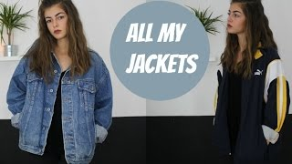 ALL MY JACKETS