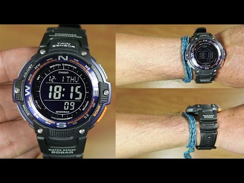 07b7b05e9f217a Casio Outgear TWIN SENSOR SGW-100-2B - UNBOXING - YouTube