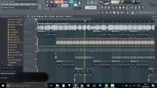 Tanajura - (DaP Remix - Brazilian Bass) FL Studio