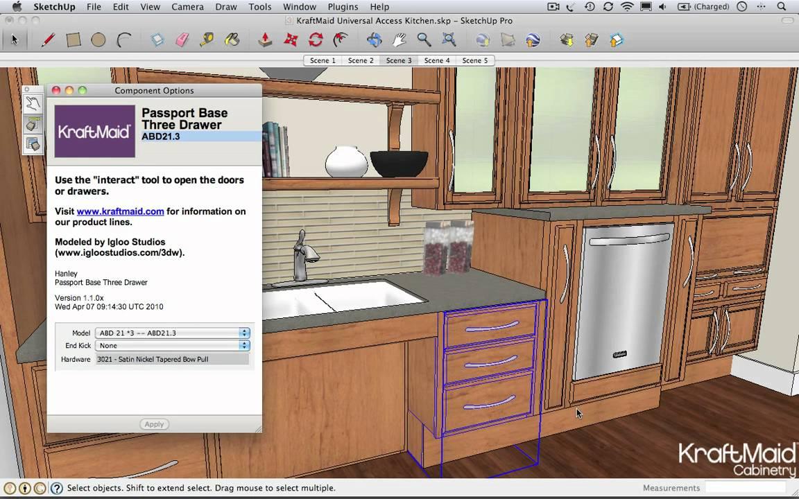 Sketchup Kraftmaid Cabinets Mf Cabinets
