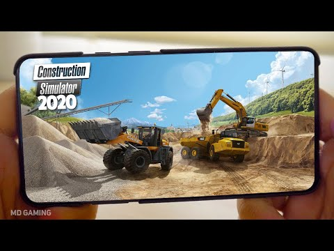 🔥TOP 7🔥REALISTIC Construction Simulator Games For Android & IOS 2020   Offline Simulator Games【MD】