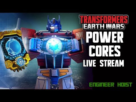 🔴 LIVE: Transformers: Earth Wars - Power Cores