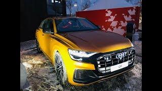 Audi Q8 2019: тест обзор в драйве на Воробьевых горах
