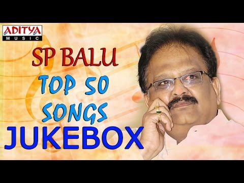 SP Balu Evergreen Top 50 Songs  Jukebox  ♫ Jabilli Kosam Akasamalle ♫