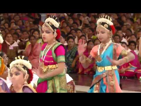 Cultural program by the Sai devotees (Day 1) from Prakasam D