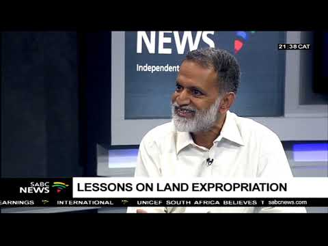 Lessons on land expropriation: Barun Mitra
