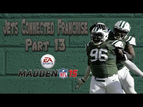 Madden 15 Xbox One- New York Jets Connected Franchise: Look at that Connection! (Part 13)