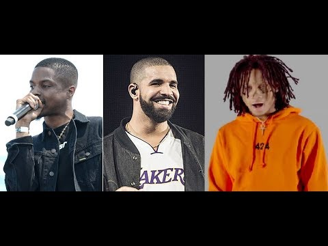 Drake Working With Trippie Redd And Pierre Bourne While He Prepares His Next Album.