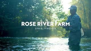 Fly Fishing at Rose River Farm