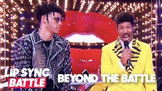 LaVar Ball & Lonzo Ball Go Beyond the Battle | Lip Sync Battle