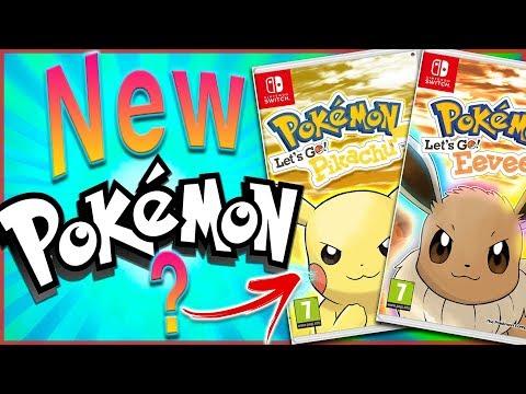 Possible New Pokémon For Pokémon: Lets Go Pikachu and Lets Go Eevee Revealed?