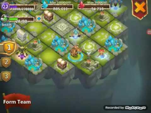 Castle Clash: Battle Altar And Some Deamon Action