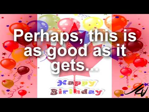 """Happy 150th Birthday Canada - """"this is as good as it gets""""   YouTube"""