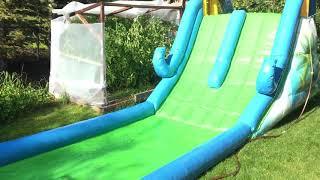 Tropic water slide!