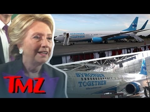 Hillary Clinton Says Goodbye to Her Campaign Plane | TMZ TV