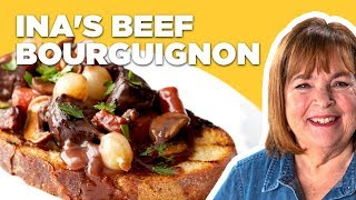 Barefoot Contessa Makes Beef Bourguignon | Food Network