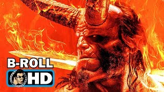 HELLBOY - NYCC B-Roll Footage (2019) David Harbour Comic Book Movie
