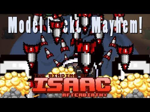 The Binding of Isaac Afterbirth Plus | Model Rocket Mayhem | Popular Synergies!
