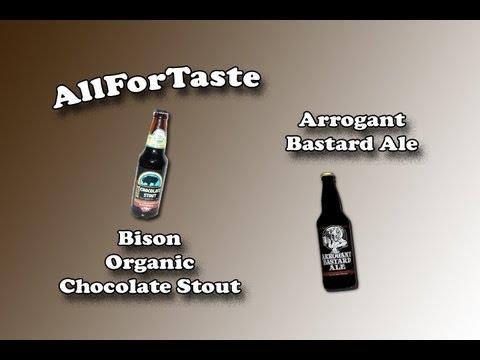 (Long Distance) Malloy Beer Drinking - Bison Organic Choc Stout-Arrogant Bastard Ale