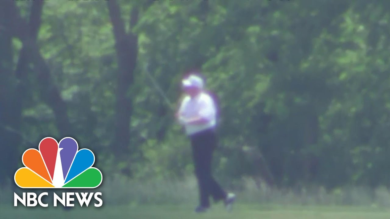 Trump's Memorial Day weekend amid pandemic spent golfing ...