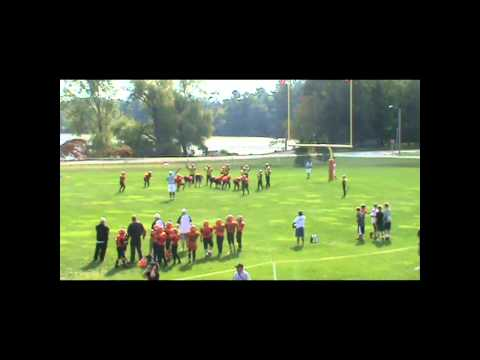 iola-scandinavia firebirds pee wee football 2013
