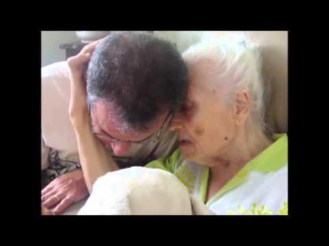 Genro Wander Carlos e a sogra Antonia