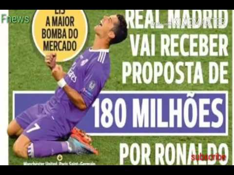 Cristiano ronaldo may leave real madrid according to  news reports from portugal