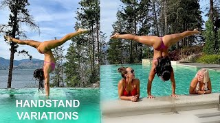 Handstand Variations  Improve your Handstand